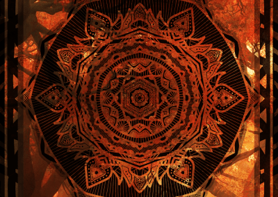 Serie Autumn Mandala Cover, 2018